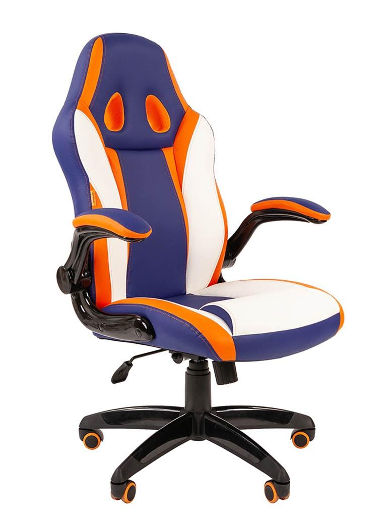 Компьютерное кресло Chairman Game 15 Mixcolor