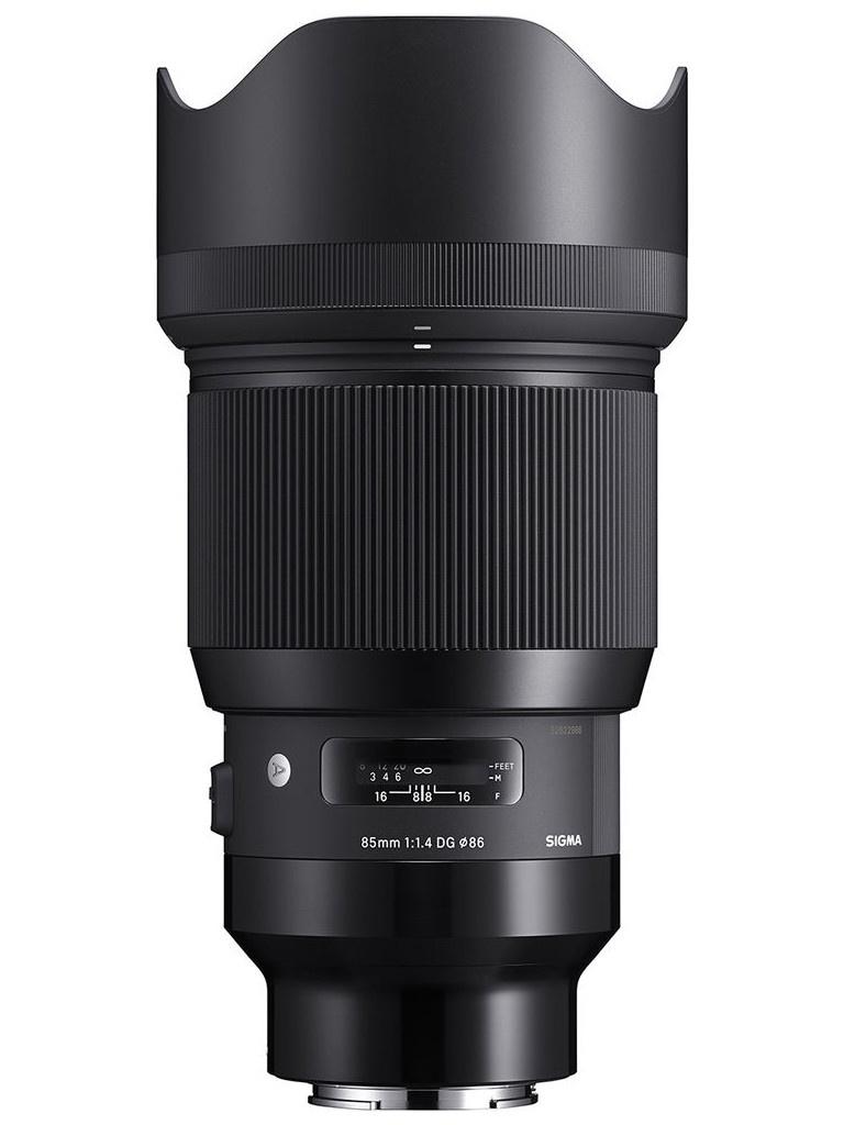 Объектив Sigma AF 85mm f/1.4 DG HSM A L-MOUNT