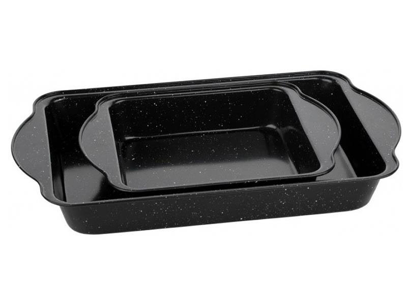 Набор форм для запекания Walmer Black Marble 2шт W12022495
