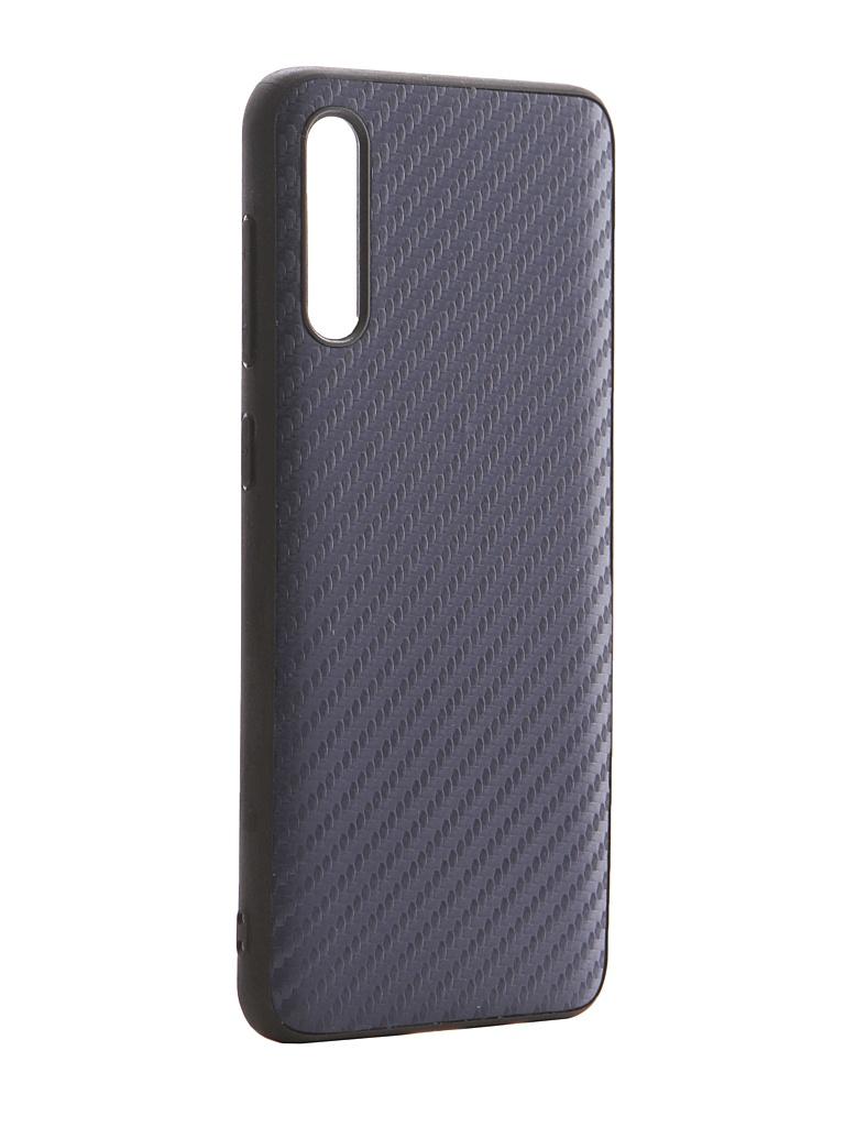 Аксессуар Чехол G-Case для Samsung Galaxy A50 SM-A505F / A50s SM-A507F A30s SM-A307F Carbon Dark Blue GG-1141