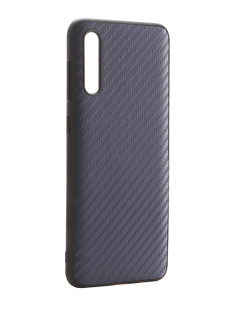 Чехол G-Case для Samsung Galaxy A50 SM-A505F / A50s SM-A507F / A30s SM-A307F Carbon Dark Blue GG-1141 чехол g case для samsung galaxy tab a 8 sm t380 sm t385 slim premium dark blue gg 910