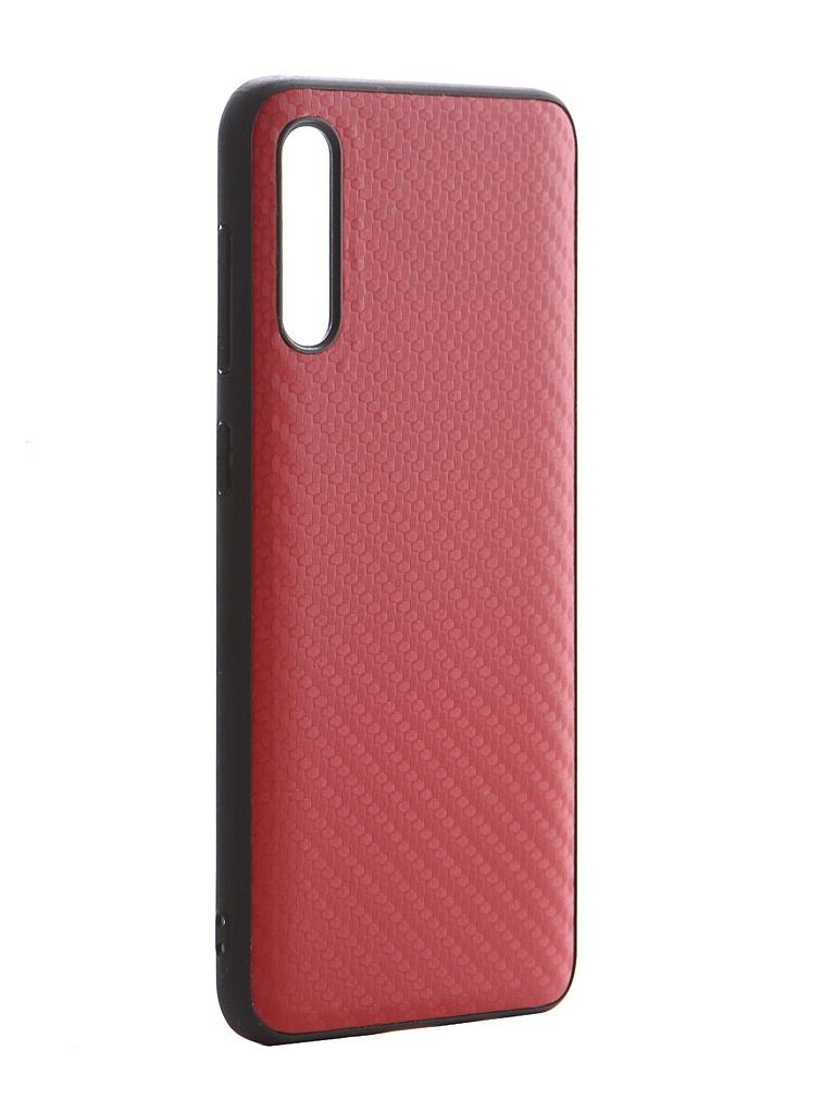 Чехол G-Case для Samsung Galaxy A50 SM-A505F / A50s SM-A507F / A30s SM-A307F Carbon Red GG-1140 чехол g case для samsung galaxy tab s5e 10 5 sm t720 sm t725 slim premium red gg 1096