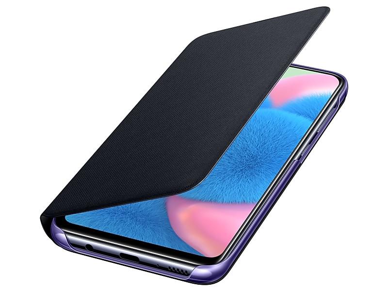 Чехол Samsung Galaxy A30s/A50 Wallet Cover Black EF-WA307PBEGRU