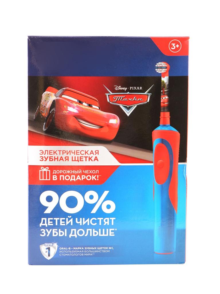 Зубная электрощетка Oral-B Stages Power Тачки D12.513K + чехол