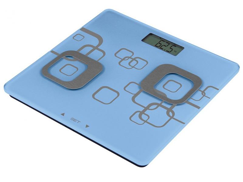 Весы напольные Atlanta ATH-6162 Blue напольные весы atlanta ath 6100 rd