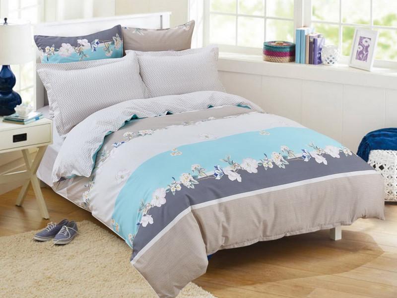 Постельное белье Cleo Satin Lux 41/393-SL Комплект Дуэт Сатин