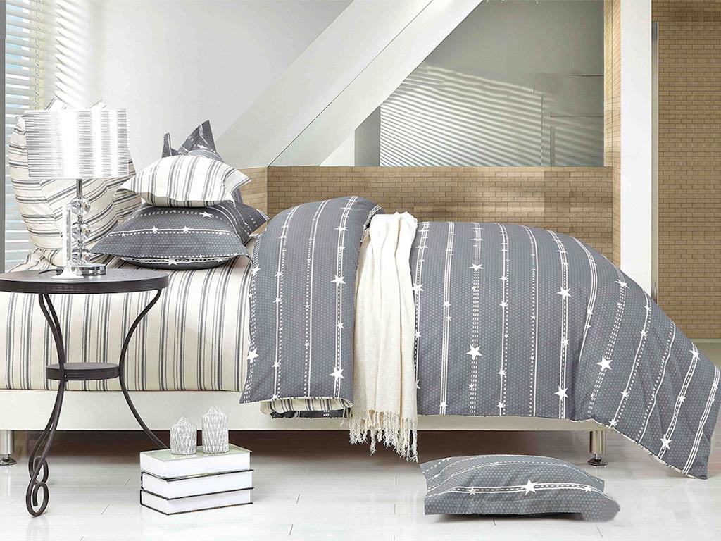 Постельное белье Cleo Satin Lux 20/421-SL Комплект 2 спальный Сатин