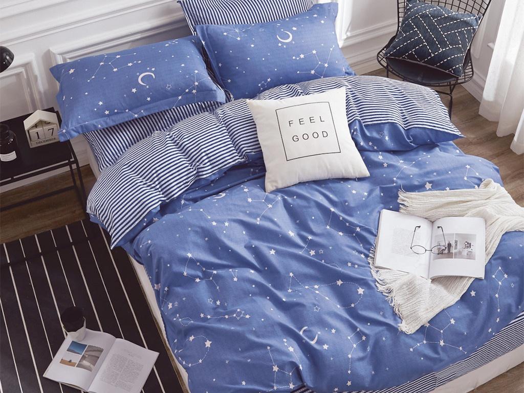 Постельное белье Cleo Satin Lux 20/420-SL Комплект 2 спальный Сатин