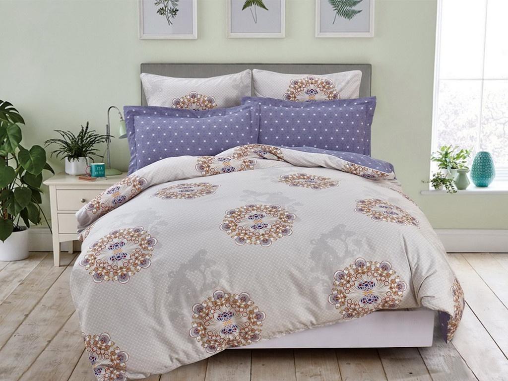 Постельное белье Cleo Satin Lux 20/387-SL Комплект 2 спальный Сатин