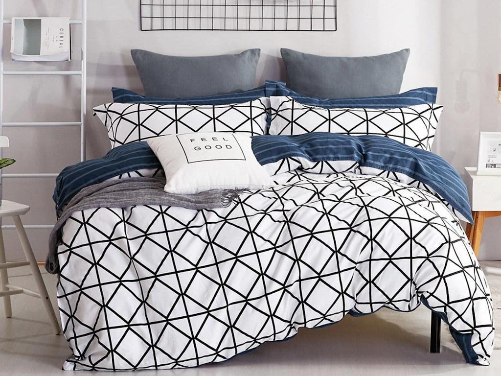 Постельное белье Cleo Satin Lux 15/427-SL Комплект 2 спальный Сатин