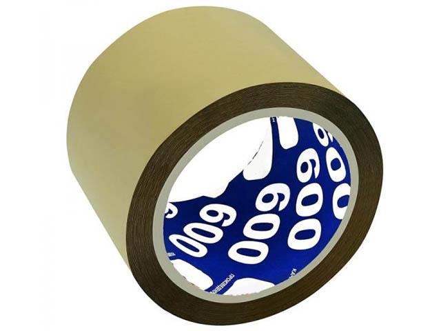 Клейкая лента Unibob 600 72mm x 66m 6шт Brown 41165