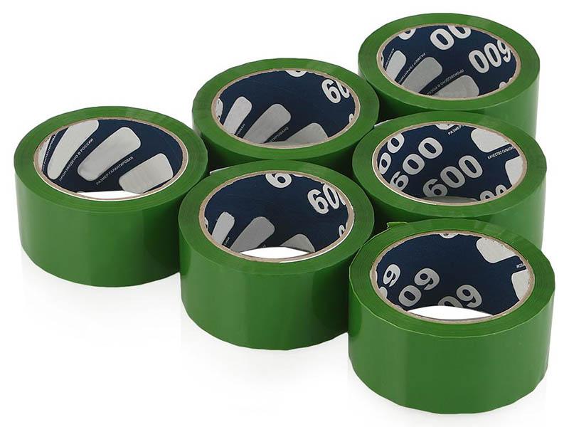 Клейкая лента Unibob 600 48mm x 66m 6шт Green 41154