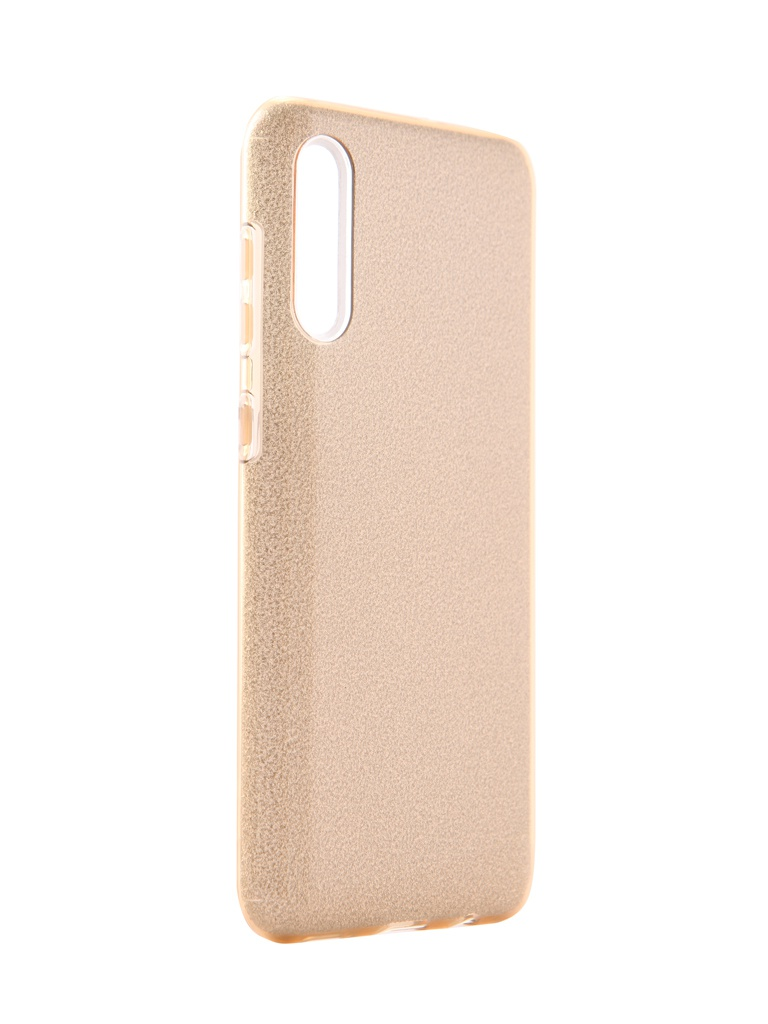 Чехол Neypo для Samsung Galaxy A30s 2019 Brilliant Silicone Gold Crystals NBRL15313