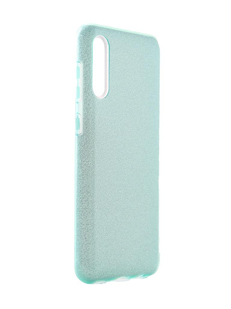 Чехол Neypo для Samsung Galaxy A30s 2019 Brilliant Silicone Turquoise Crystals NBRL15311