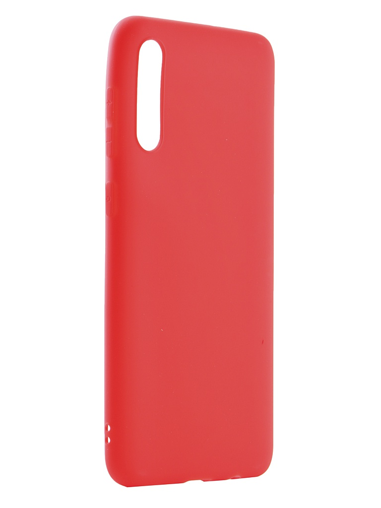 Чехол Neypo для Samsung Galaxy A30s 2019 Silicone Soft Matte Red NST15309