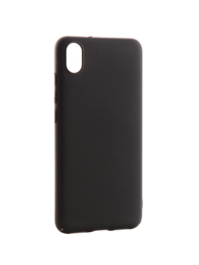Аксессуар Чехол Neypo для Xiaomi Redmi 7A Soft Touch Black ST15185 цена и фото