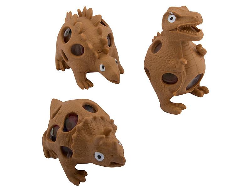 Игрушка антистресс Эврика Динозавры набор 3шт Brown 99425