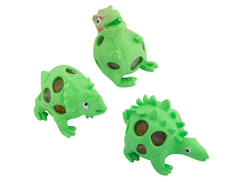 Игрушка антистресс Эврика Динозавры набор 3шт Green 99424