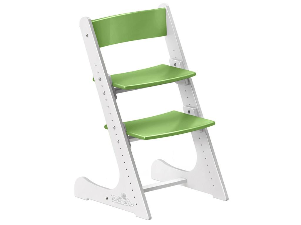 Стул Растущий стульчик Конек Горбунёк Универсальный White-Green