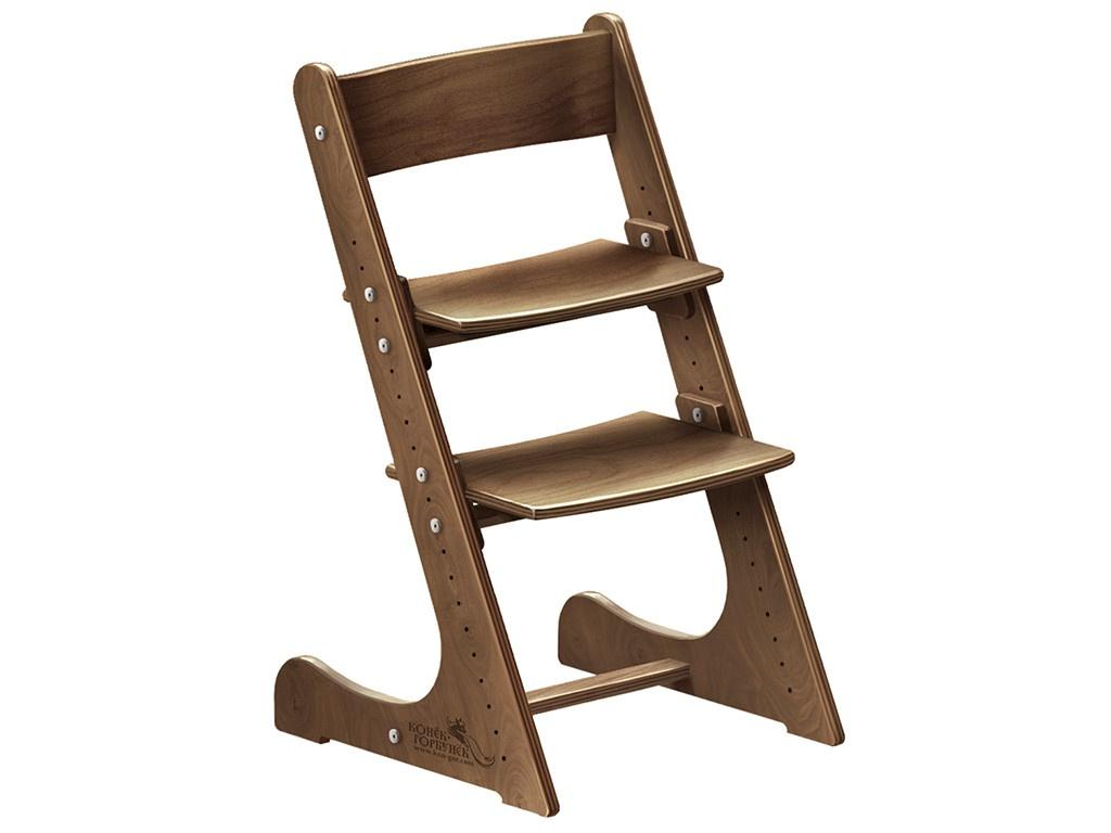 Фото - Стул Растущий стульчик Конек Горбунёк Универсальный Walnut детский растущий стул из бука конёк горбунёк