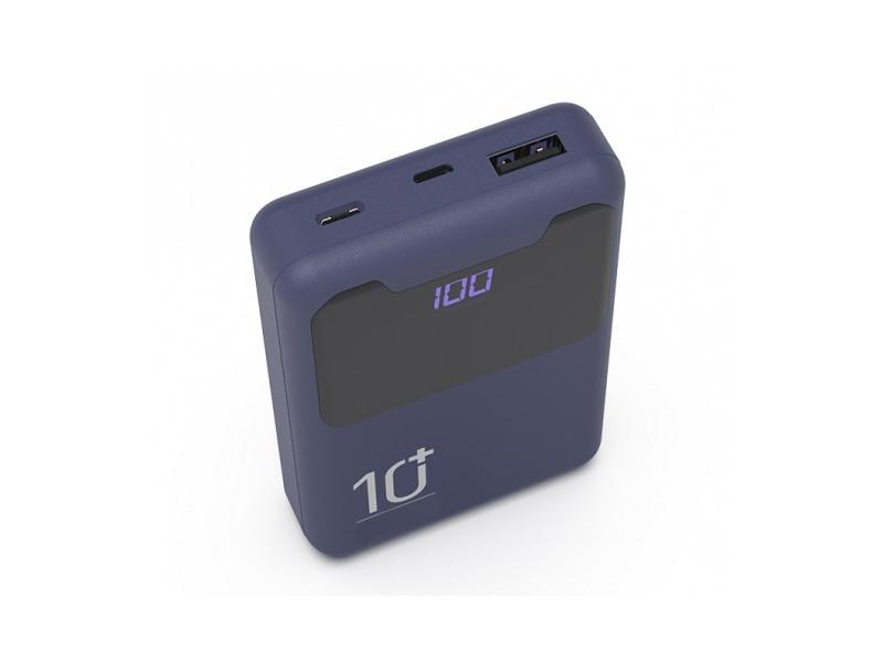 цена на Внешний аккумулятор Ritmix Power Bank RPB-10005 10000 mAh Indigo Black