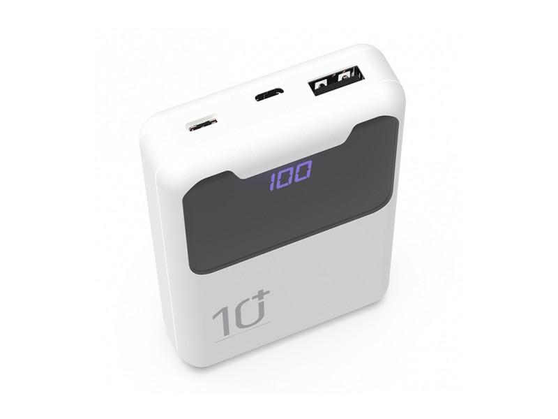 Внешний аккумулятор Ritmix Power Bank RPB-10005 10000 mAh White