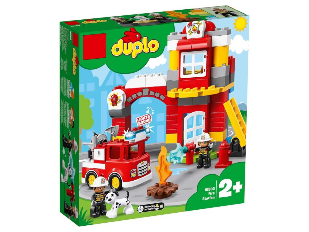Конструктор Lego Duplo Пожарное депо 76 дет. 10903