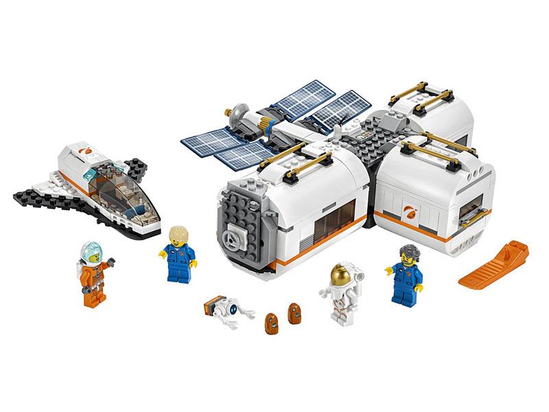Конструктор Lego City Лунная космическая станция 412 дет. 60227