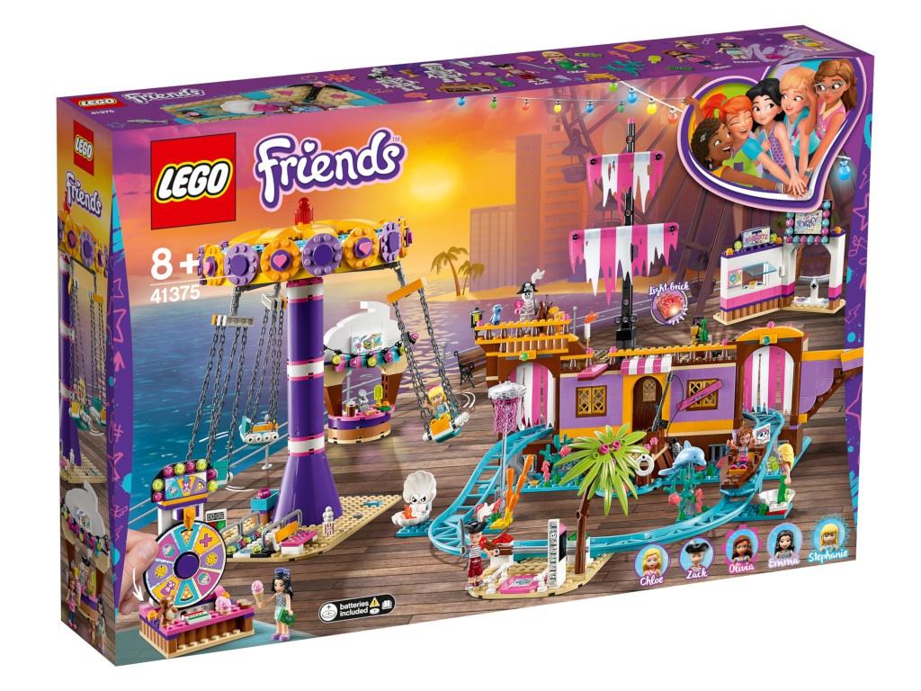 Конструктор Lego Friends Прибрежный парк развлечений 1251 дет. 41375 конструктор lego friends катер для спасательных операций 908 дет 41381