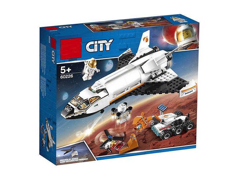 Конструктор Lego City Шаттл для исследований Марса 273 дет. 60226