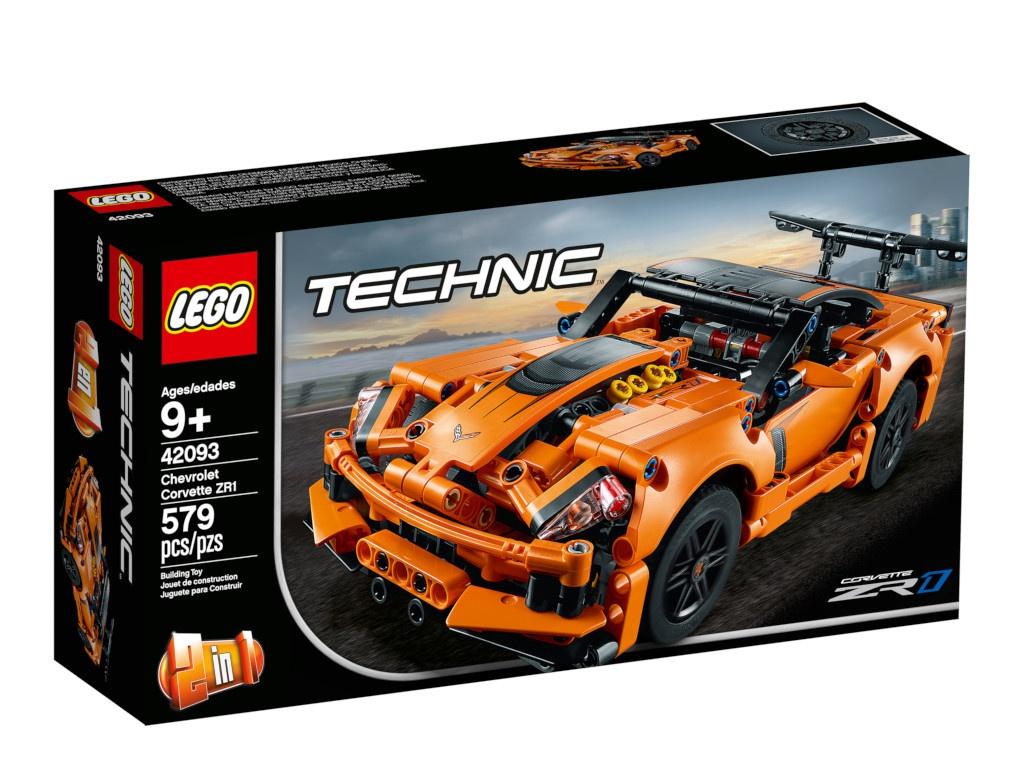 Конструктор Lego Technic Шевроле Корветт ZR1 579 дет. 42093