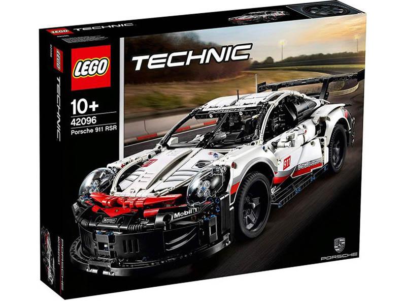 Lego Technic Порше 911 RSR 1580 дет. 42096 rsr 190 page 2