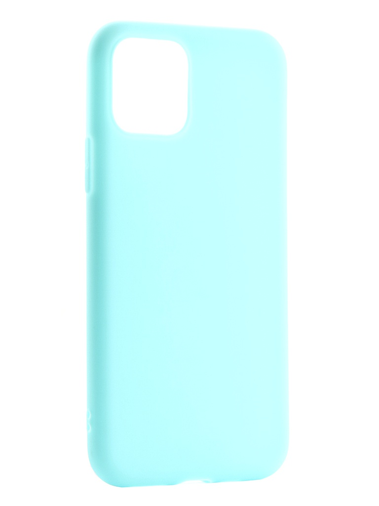 Фото - Аксессуар Чехол Zibelino для APPLE iPhone 11 Pro 2019 Soft Matte Turquoise ZSM-APL-11PRO-TRQ аксессуар чехол zibelino для apple iphone xr soft matte blue zsm apl xr blu