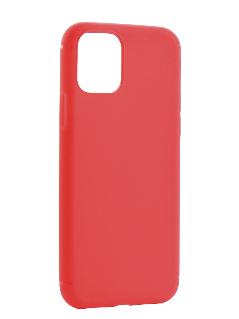 Фото - Аксессуар Чехол Zibelino для APPLE iPhone 11 Pro 2019 Soft Matte Red ZSM-APL-11PRO-RED аксессуар чехол zibelino для apple iphone xr soft matte blue zsm apl xr blu