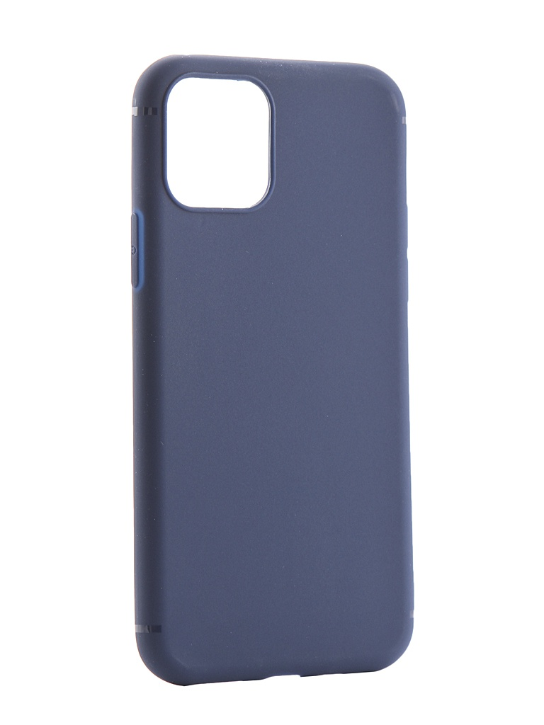 Фото - Аксессуар Чехол Zibelino для APPLE iPhone 11 Pro 2019 Soft Matte Dark Blue ZSM-APL-11PRO-DBLU аксессуар чехол zibelino для apple iphone xr soft matte blue zsm apl xr blu