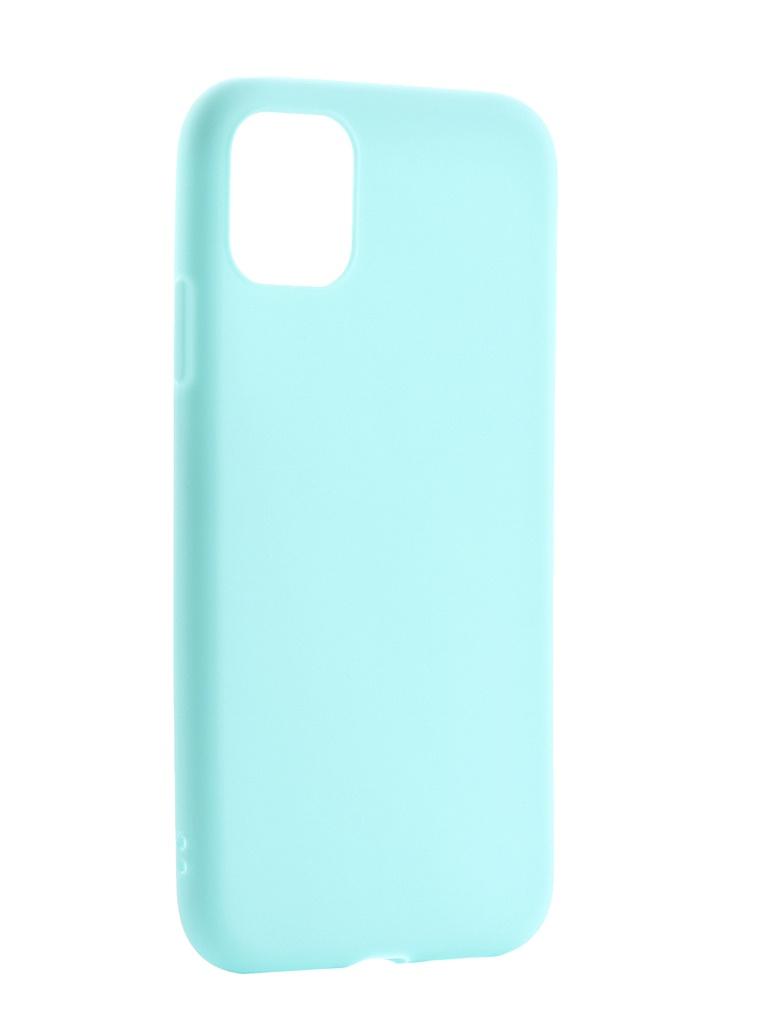 Чехол Zibelino для APPLE iPhone 11 2019 Soft Matte Turquoise ZSM-APL-11-TRQ