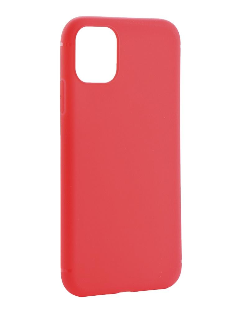 Чехол Zibelino для APPLE iPhone 11 2019 Soft Matte Red ZSM-APL-11-RED