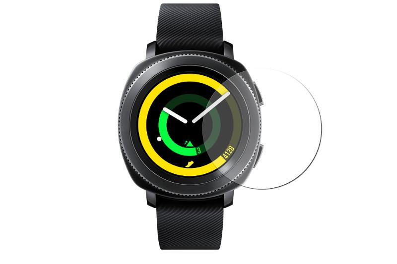 Аксессуар Защитная пленка Zibelino TG для Samsung Galaxy Watch Active 2 R830 2019 ZTP-SAM-R830 3c matx r830