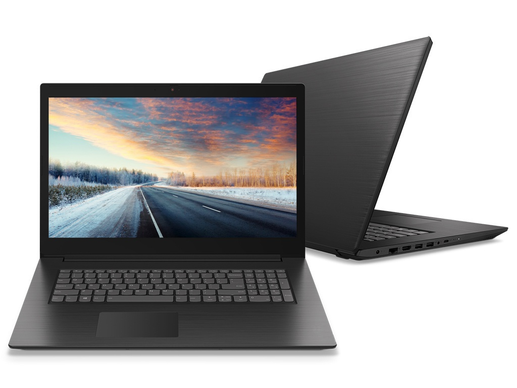Ноутбук Lenovo IdeaPad L340-17IWL Black 81M0004CRK (Intel Core i7-8565U 1.8 GHz/16384Mb/1000Gb + 128Gb SSD/Intel HD Graphics/Wi-Fi/Bluetooth/Cam/17.3/1600x900/DOS)