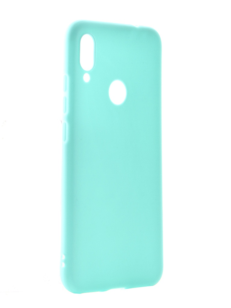Чехол Pero для Xiaomi Redmi Note 7 Soft Touch Turquoise CC01-RN7C