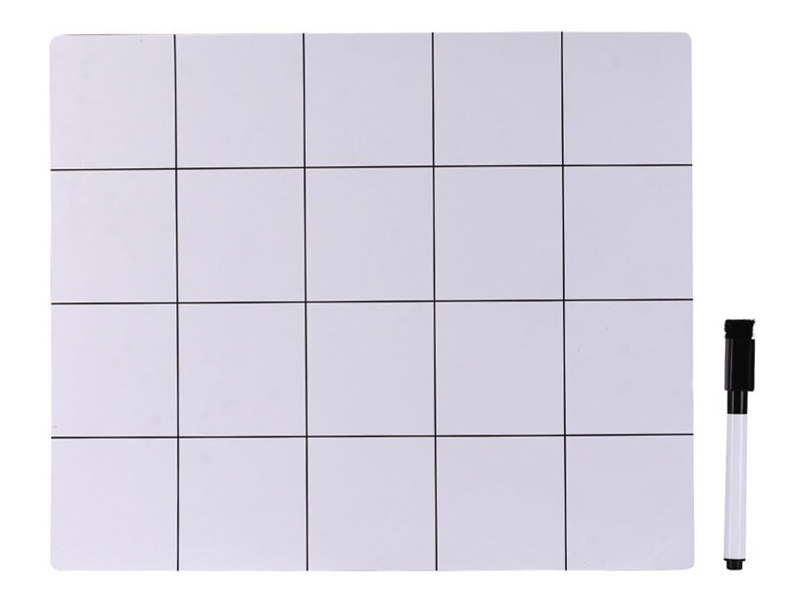 Коврик магнитный iQFuture 250x300mm White IQ-SMAT-25