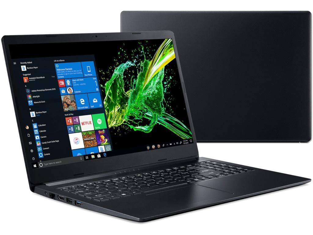 Ноутбук Acer Aspire A315-22-619W Black NX.HE8ER.010 (AMD A6-9220e 1.6 GHz/8192Mb/256Gb SSD/AMD Radeon R4/Wi-Fi/Bluetooth/Cam/15.6/1920x1080/Windows 10 64-bit)