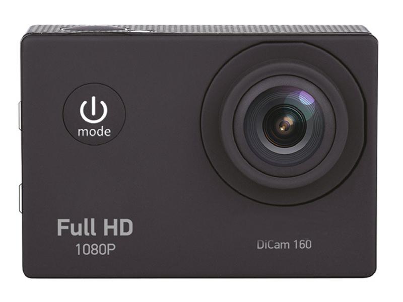 Экшн-камера Digma DiCam 160 Black