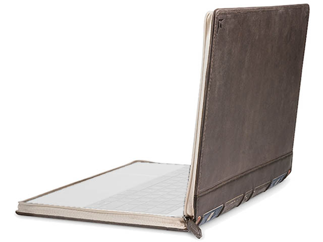 Аксессуар Чехол 15-inch Twelve South BookBook Vol 2 Leather для APPLE MacBook Pro Brown 12-1715