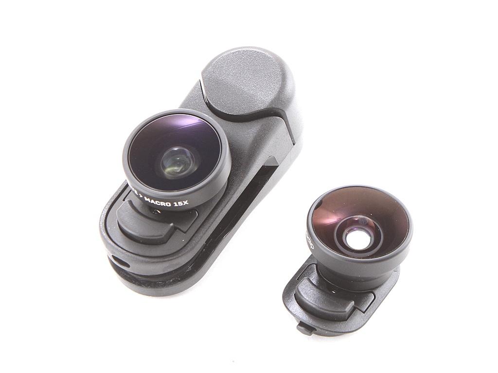 Набор линз Olloclip Multi-Device Fisheye + Super-Wide Macro Essential Lenses OC-0000302-EU