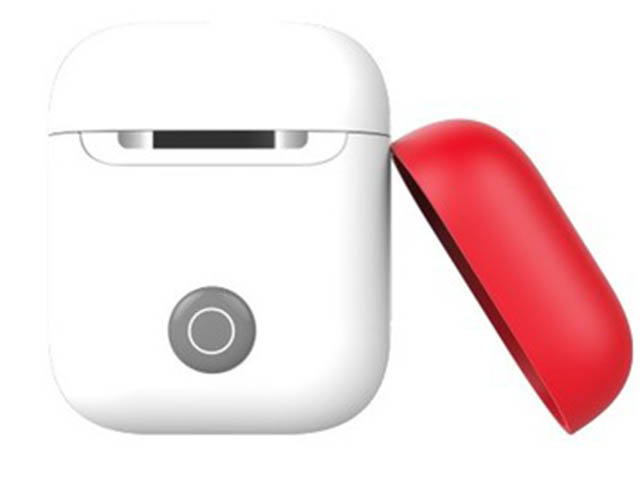 Чехол SwitchEasy для Apple AirPods 2 Colors Generation Wireless Charging Case White GS-108-71-139-12