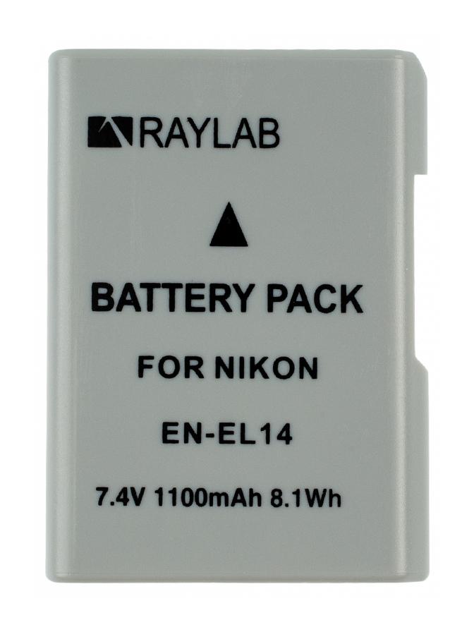 Фото - Аккумулятор Raylab RL-ENEL14 внешний аккумулятор power bank 13000 мач buro ra 13000 qc3 0 черный