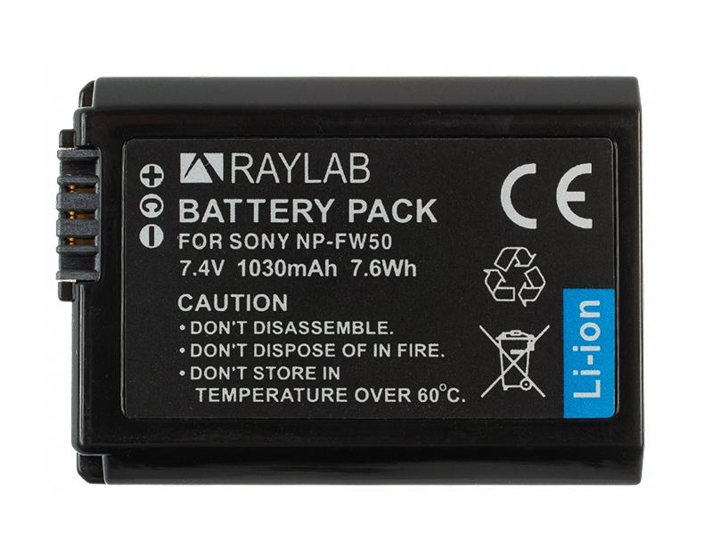 Фото - Аккумулятор Raylab RL-FW50 внешний аккумулятор power bank 13000 мач buro ra 13000 qc3 0 черный