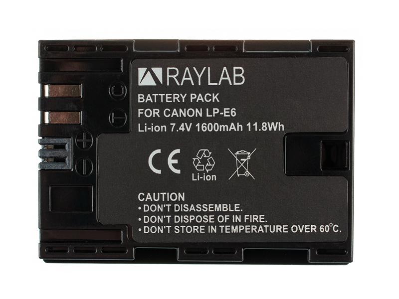 Фото - Аккумулятор Raylab RL-LPE6 внешний аккумулятор power bank 13000 мач buro ra 13000 qc3 0 черный