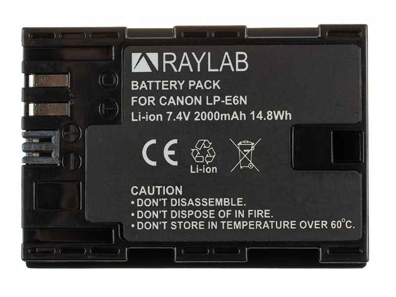Фото - Аккумулятор Raylab RL-LPE6N внешний аккумулятор power bank 13000 мач buro ra 13000 qc3 0 черный